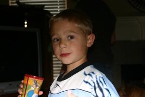 My boy, at age six.